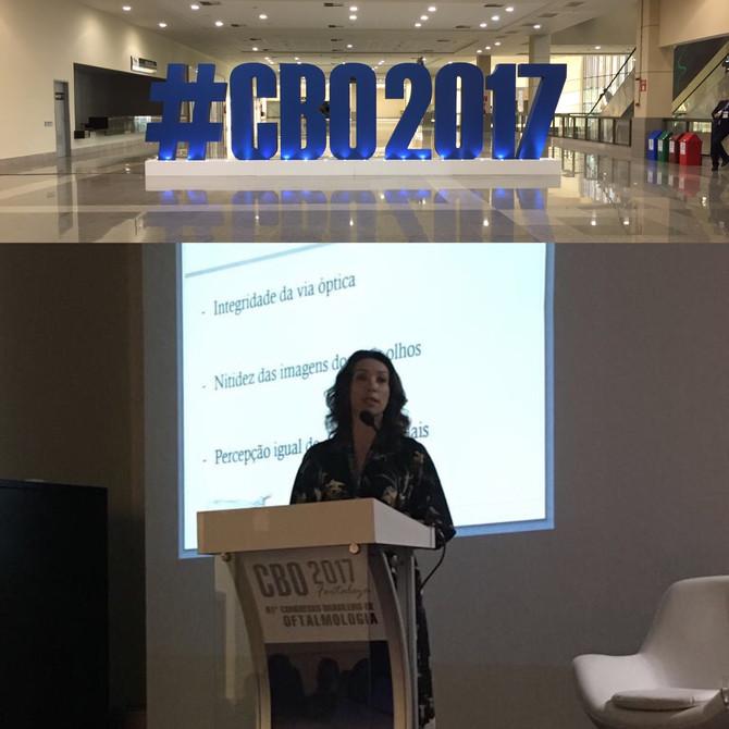 Congresso Brasileiro de Oftalmologia - Fortaleza - 2017