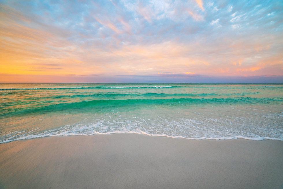 shutterstock License1 (sunset at beach -