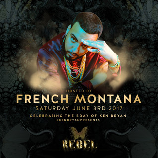My OFFICIAL Birthday Party At REBEL This Saturday With French Montana