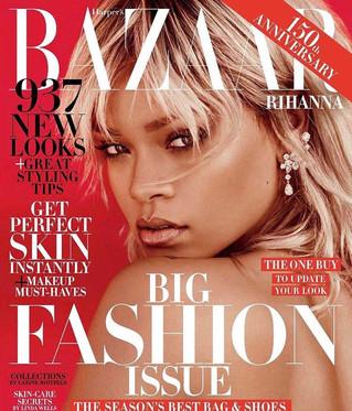 Rihanna Covers Harper's Bazaar 2017