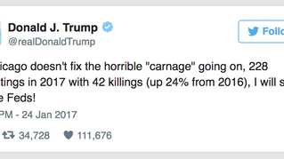 Donald Trump Sends A Warning To Chicago Gang Bangers