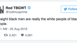 Black Twitter Politics: Straight Black Men Are The White People Of Black People