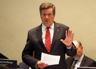 John Tory Is About To Screw Up Transit