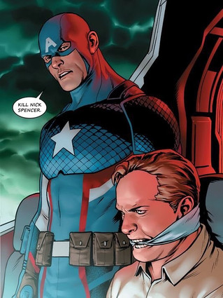 They made Captain America a Nazi?!