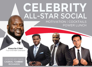 Celebrity All Star Leadership Social & Power Lunch W/ Dr. Shaquille O'neal