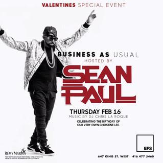 Sean Paul Hosts EFS Thursdays TONIGHT!