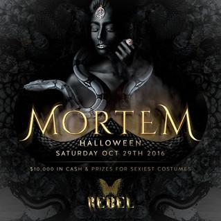 MORTEM At REBEL This Saturday!