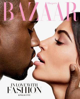 Kim And Kanye Cover BAZAAR!