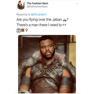 Hilarious: Atlanta Airport Wins The Internet By Offering Flights To Wakanda!