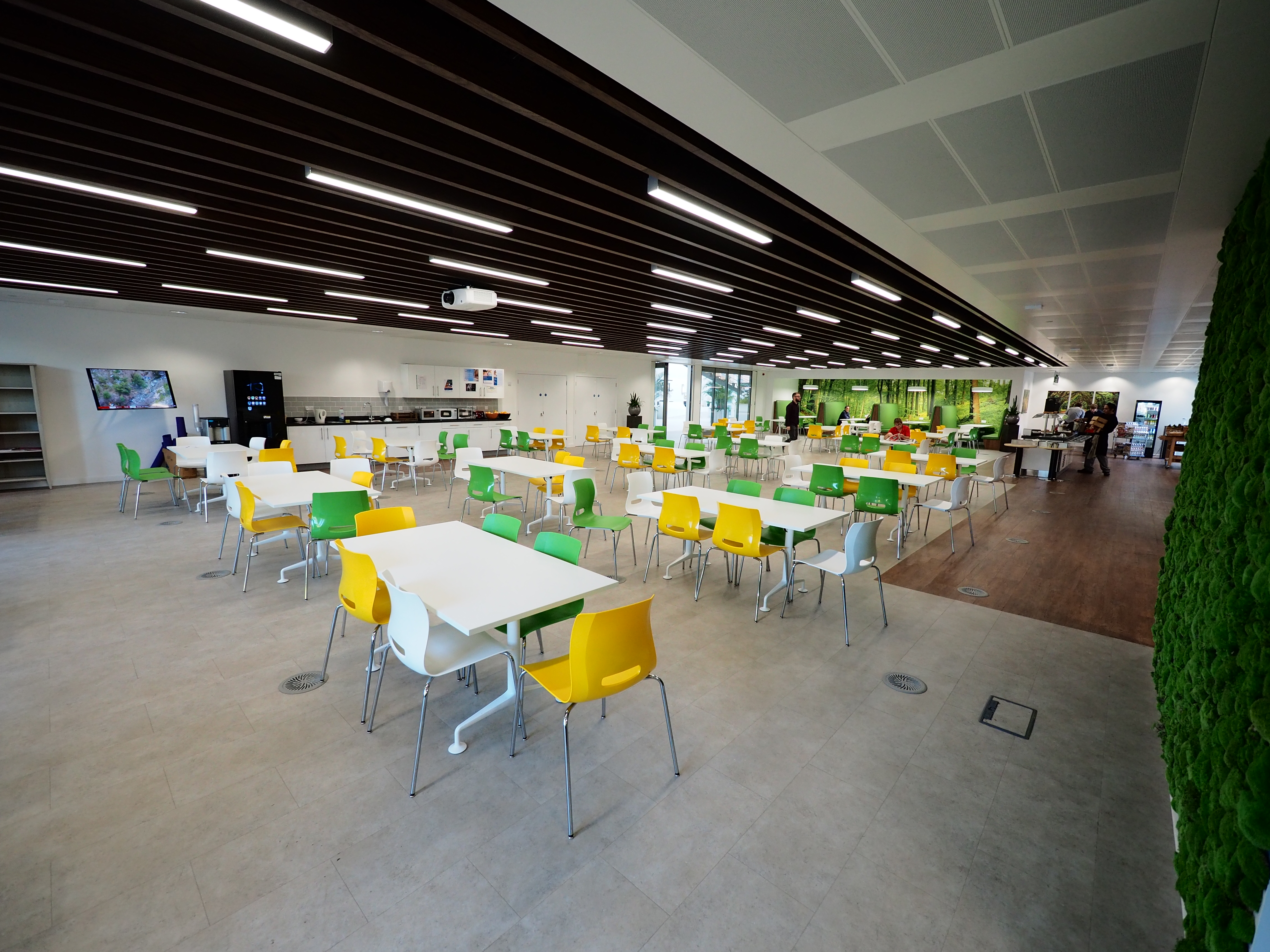 Staff restaurant for corporate
