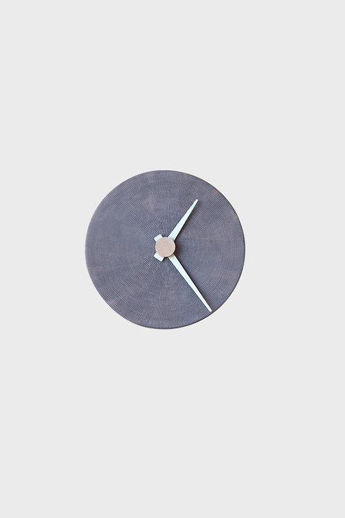 Full Moon - wall clock - grey