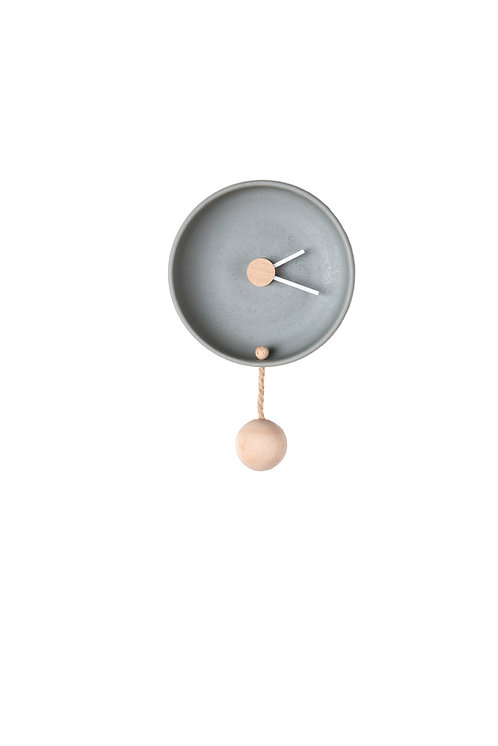 Totide' Wall clock -  Small - Grey