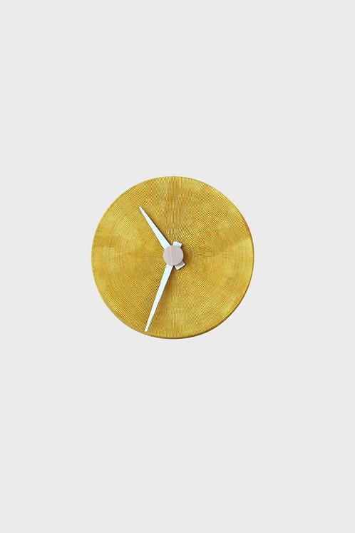 Full Moon - wall clock - honey