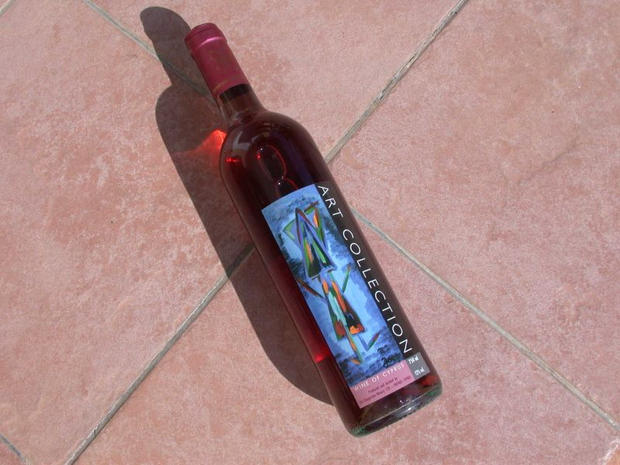 Art Collection Rose Wine