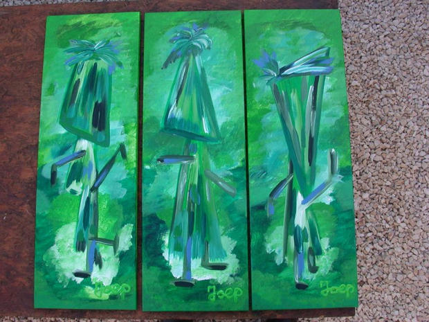 Tryptec Green Dancers (Private Collection)