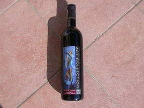 Art Collection Red Wine