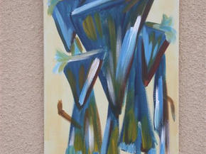 Behind Masks 3 (Private Collection)