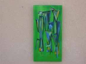 Mirror image green - Diptych right