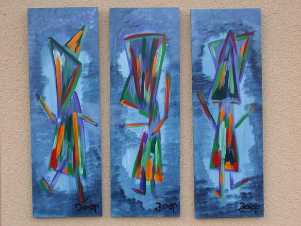 Tryptec Art Collection Blue