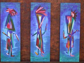 Tryptech Blue Dancers