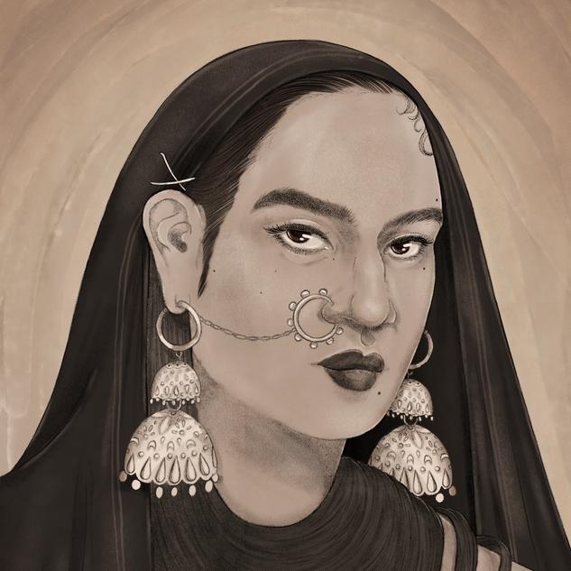 Muholi Inspired Portrait for Tate Instagram Live