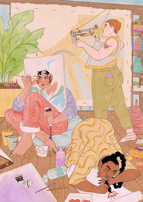 COLLECTIVE | art print