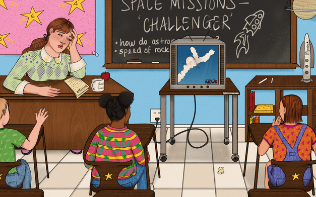 'The Challenger Explosion Is the Day My Brain Broke' for Zora by Medium
