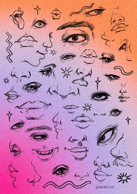 MAUVE   art print