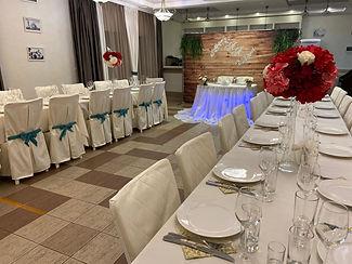 банкетный зал ресторана Люкс