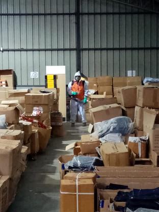 Sanitización y Desinfección a Empresa KS ltda 25/09/2020. Viña del Mar.