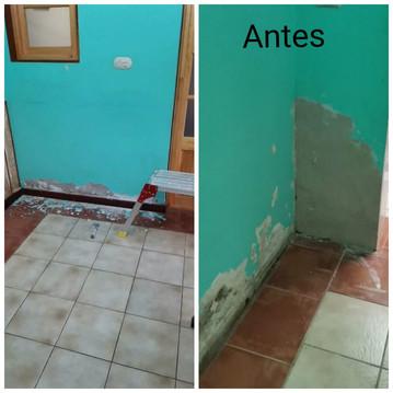 Restauracion casa hogar sector Quillota