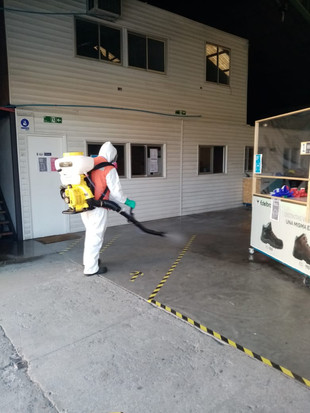 Sanitización y Desinfección a Empresa KS ltda 09/09/2020. Viña del Mar.