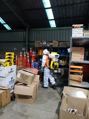 Sanitización y Desinfección a Empresa KS ltda 04/09/2020. Viña del Mar.