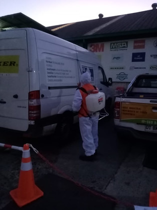 Sanitización y Desinfección a Empresa KS ltda 24/07/2020. Viña del Mar.