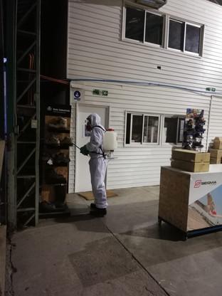 Sanitizacion a Empresa KS ltda 12/06/2020. Viña del Mar