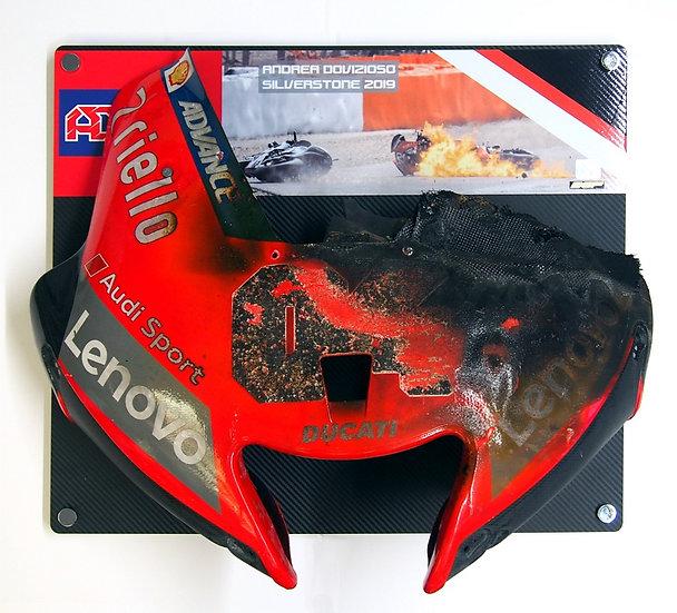 Andrea Dovizioso 2019 Silverstone race front