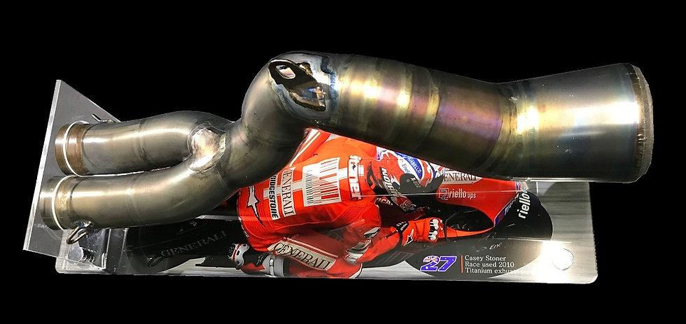 Casey Stoner 2010 Exhaust