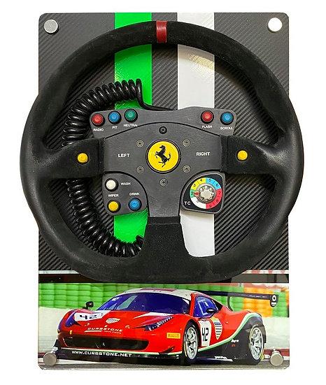Ferrari GT3 steering wheel