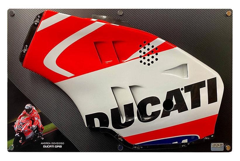 Andrea Dovizioso GP13 side panel