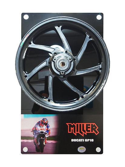 Jack Miller 2018 Pramac Ducati front wheel