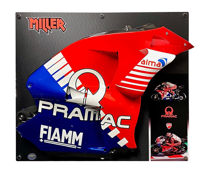 Jack Miller GP19 side with special launch wing