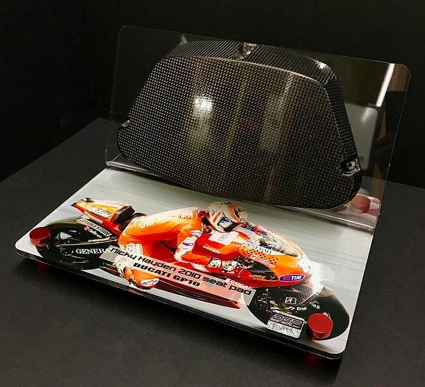 Nicky Hayden Ducati GP10 seat pad