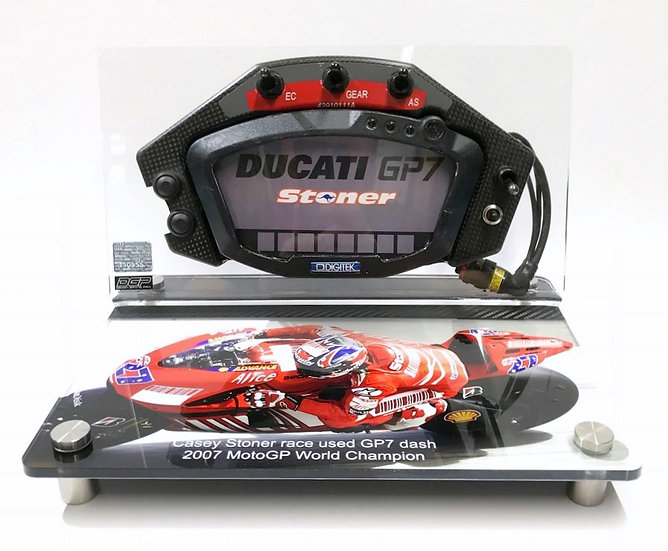 Casey Stoner 2007 dash section