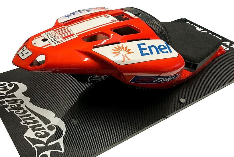 Nicky Hayden Ducati GP9 race used seat unit