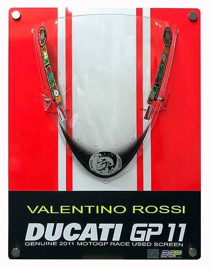 Valentino Rossi GP11 race screen