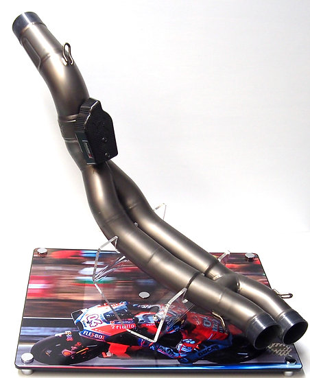 Ducati GP18 exhaust section