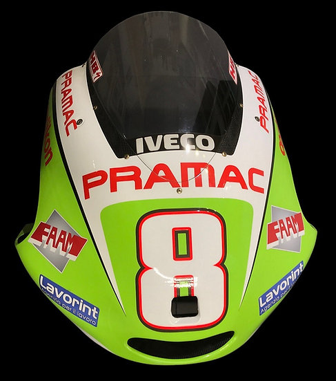 Hector Barbera 2012 front fairing
