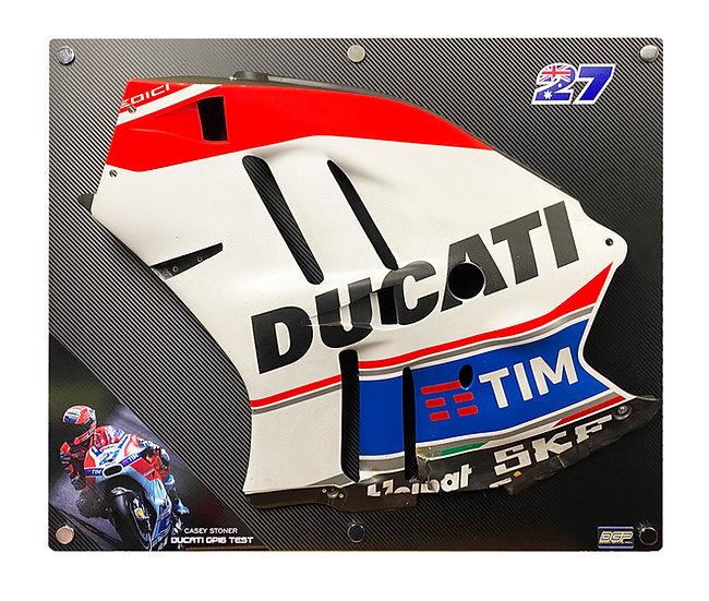 Casey stoner Ducati Test panel