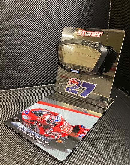 Casey Stoner GP7 dash