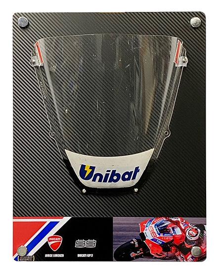 Jorge Lorenzo Ducati GP17 Race screen